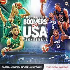 Australian Boomers VS Team USA In ...
