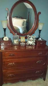 Lillian Russell Bedroom Furniture Best Antique 1950s Cherry Lillian Russell 5 Piece Bedroom Suite