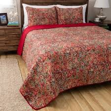 Paisley Quilts & Bedspreads For Less | Overstock.com & Greenland Home Fashions Persian Multicolored Cotton 3-piece Quilt Set Adamdwight.com