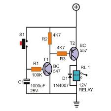 timer circuit diagram ireleast info on delay timer circuit diagram on auto wiring diagram schematic wiring circuit