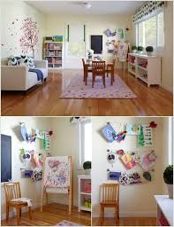 ideas how to add photo gallery hanging art without nails