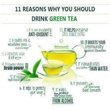 Green tea nutrients - green tea nutrition Facts