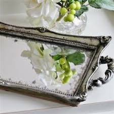 Decorating With Silver Trays Antiqued silver oval tray from wwwblissandbloomcouk Carry Trays 77
