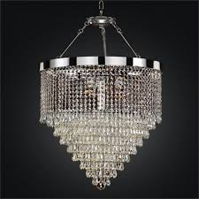 alluring hanging crystal chandelier your home idea