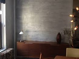 diy home decor how to paint a faux concrete wall finish apartment therapy