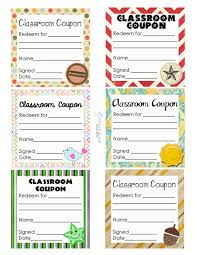 classroom coupons updated squarehead teachers classroom coupon sheet 1