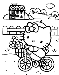 Hello Kitty Dot To Dot Coloring Pages Color Bros