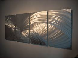 metal wall sculpture abstract large contemporary metal wall art