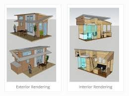 tiny house project. the tiny project renderings house o