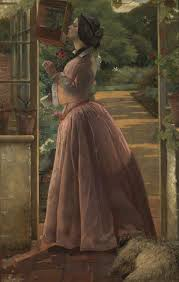 A Pet', Walter Howell Deverell, exhibited 1853 | Tate