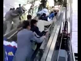 people on escalators. there is nothing funnier to me than people doing escalators wrong. i don\u0027t on