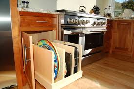 Pullout Tray Storage Traditional Kitchen Burlington by