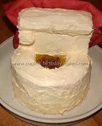 Coolest Birthday Cake Photo Ideas Of Toilet Cakes