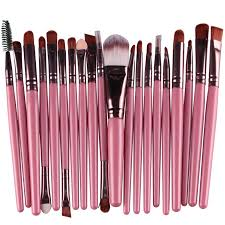 it also can make the brush used for years package includes 20pcs makeup brushes kit color as picture opp bag package