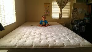 e World Homeschool Our Huge New Family Bed