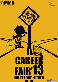 Mmu Career Fair Poster Design On Pantone Canvas Gallery