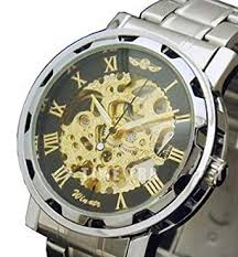 Winner Skeleton Self Wind Men's Mechanical Watch ... - Amazon.com