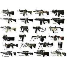 Details About Guns Chart Weapons Of Mw2 Military Silk Poster 20x27 Inch