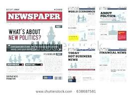 Magazine Article Format Template Uploaded Sports Article Template Magazine Newsletter