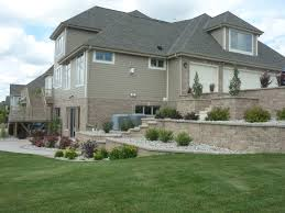swimming with stone retaining walls pool builder brookfield wi