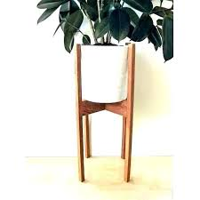 cool large indoor planter large indoor plant stands contemporary mid century modern plant stand uk cool