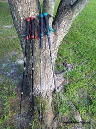 black diamond trail pro shock trekking poles are 3 section aluminum poles with shock absorption cushions built into the handles to enhance your trek through