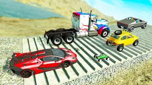 <b>Car Racing</b> Battle #2 - Who is better? - Beamng drive - YouTube