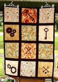 Steampunk Collection - 12 Applique Patterns. This is why blog ... & Steampunk Quilt - sold but gorgeous nonetheless Adamdwight.com