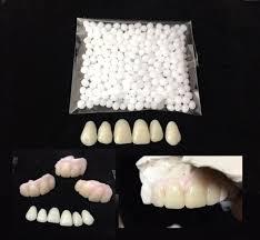 missing teeth dental veneer kit 6 front teeth diy replacement denture tooth a2
