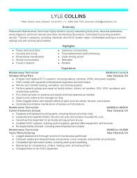 Mechanic Resume Template – Armni.co