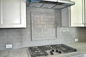 gray mosaic backsplash white and gray tile v stones kitchen with regard to design 6