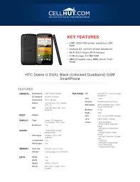 HTC Desire U DUAL Black GSM SmartPhone ...