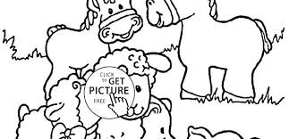 Farm Animal Coloring Page Farm Animals Coloring Page Awesome Pages