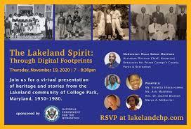 The Lakeland Sprit: Through Digital Footprints | College Park, MD Patch