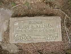 Ruby Elaine Glenn Keenan (1907-1968) - Find A Grave Memorial