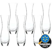 small glass bud vases get ations a glass bud vases set of 6 small colored glass