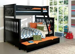 Bunk Beds for Adults | Loft Bed with Futon | Full Over Full Bunk Beds with
