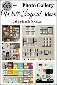 65 plus photo gallery wall layout ideas