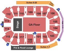 Abbotsford Centre Seating Chart The Offspring Sum 41 Dinosaur Pile Up Tickets Sat Nov 30