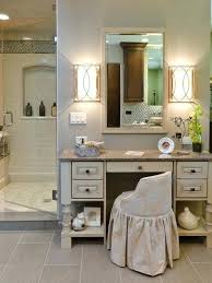 dressing table lighting. White Makeup Table With Mirror Leather Bench On Grey Rug Classic Wooden Dressing Lights For Based Stool Lighting O