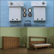 diy wall bed. DIY Folding Bed Mechanism Murphy Wall Diy F