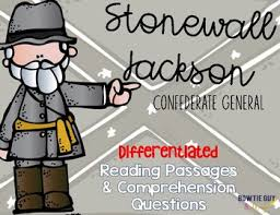 Stonewall Jackson Quotes Classy Stonewall Jackson Differentiated Reading Passages By Bow Tie Guy And