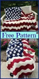 American Flag Crochet Pattern Awesome American Flag Crochet Pattern Crafts Pinterest Free Crochet