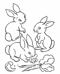 Small Picture Bunny coloring pages triplets ColoringStar