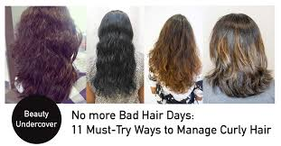 Hacks To Tame Curly Frizzy Hair In Singapore