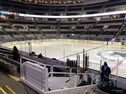 Sap Center Section 128 San Jose Sharks Rateyourseats Com