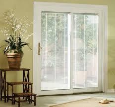 sliding patio door blinds design