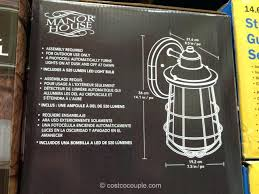 full image for manor house lighting replacement parts manor house vintage led coach light costco 4