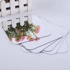 Mirror Tiles For Table Decorations 60 Pcs Square Mirror Tile Obtuse Angle Wall Stickers 60 D Decal 27