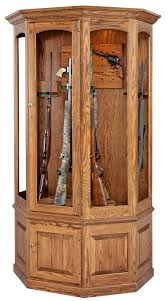 Cherry Or Maple Cabinets Amish Gun Cabinets Oak Cherry Maple Gun Cabinets